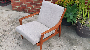 RESTORED PARKER TEAK ARMCHAIR. Marrickville Marrickville Area Preview