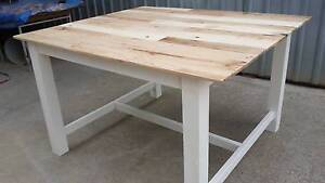 Pallet wood bar tables made to order