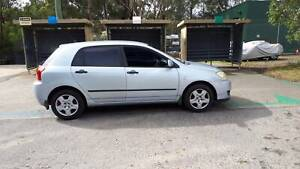 2005 TOYOTA COROLLA ASCENT HATCH Southport Gold Coast City Preview
