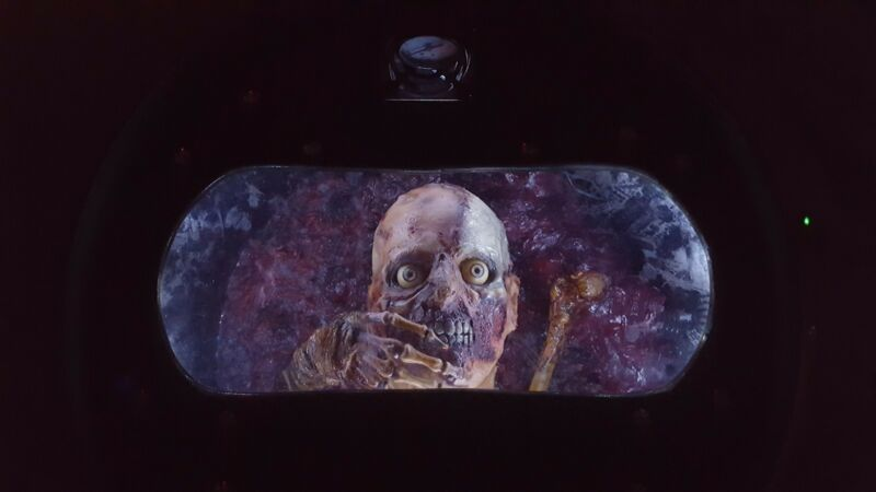 Return of the Living Dead inspired custom Containment Drum