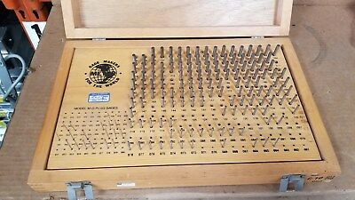 Meyer C-10 .011.250 Minus Pin Gage Set