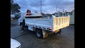 Fuso truck, tipper, hiab