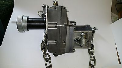 Hornet Hydraulic Pto Pump Wgearbox Backhoe Loaders Etc - New 8 Gpm -