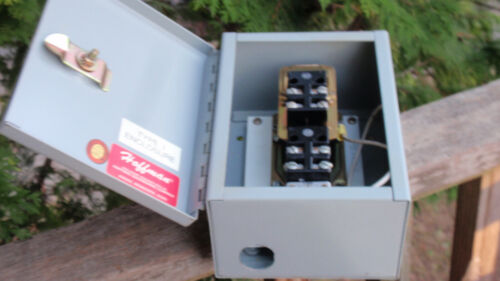 Hoffman Type 1 Enclosure Electrical Cut Out Box With Ab Time Unit ? Barely Used