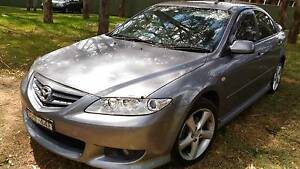 CHEAPEST PRICED! 04 Mazda 6 MANUAL, 17.3.17 Rego Ingleburn Campbelltown Area Preview