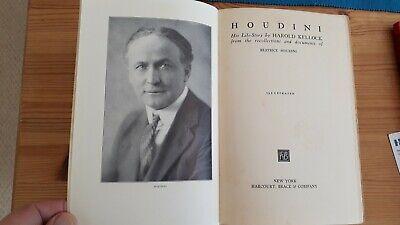 Houdini His Life-Story 1928