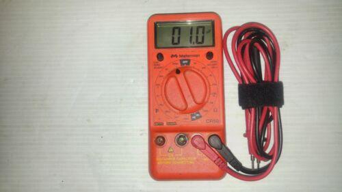 Meterman CR50_Capacitance and Resistance Tester