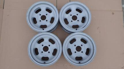 14 x 5.5 Mags Jelly Bean Peanut for Datsun Toyota Ford Mitsubishi