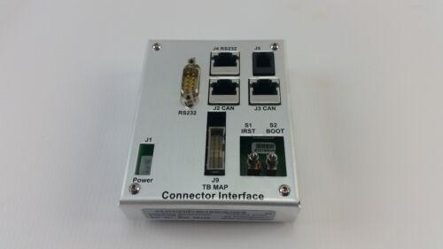 Telefrank 013501-186-27 Load Port Interface Connector Brooks Fixload