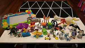 40 pieces of toys, magatic drawing board great condition Blackburn Whitehorse Area Preview