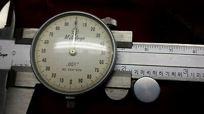 Mitutoyo No.505-626 6 Inch Dial Caliper Grad..001