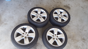 Falcon xr6 wheels with near new tyres Heathwood Brisbane South West Preview