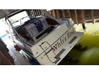 1986 Sea Ray Sundancer 26' Cabin Cruiser - Twin Merc 4-Cylinder Motors