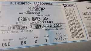 Crown Oaks Day - Hill Stand Tickets Rutherford Maitland Area Preview