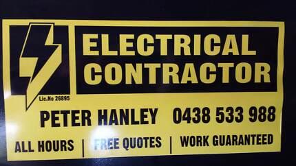 Peter Hanley Electrical Contractor Melbourne Region
