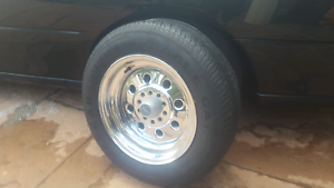 Weld Cragar Centreline wheels Hq Hj  Holden Kingswood Ford car Redcliffe Redcliffe Area Preview