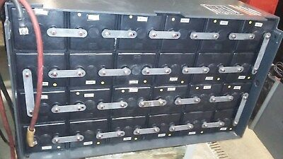48 Volt Gnb-exide Element Battery Maintenance Free Battery Tested Great Cond.