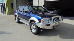 2003 Nissan Navara Ute st-r 4x4 dual cab rego rwc Clontarf Redcliffe Area Preview