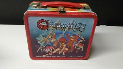 1985 Thundercats Metal Lunch Box Aladdin Industries Great condition