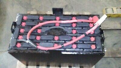 24-85-748 Volt 255ah Deka Forklift Battery Tested 5 Hours Fully Serviced.