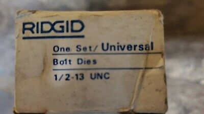 Ridgid Universal Head 12-13 Bolt Die Set 48235
