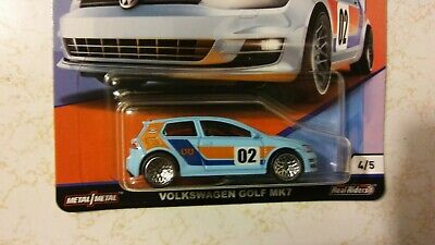 HOT WHEELS 2019 Car Culture GULF Volkswagen Golf MK7 Real Riders Only 1 per case