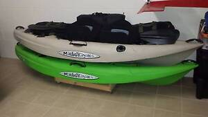 2 x Malibu Mini X Kayaks with Seats and Paddles Bayview Heights Cairns City Preview