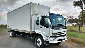 2003 Isuzu FVD 950 furniture removal delivery pantech truck Austral Liverpool Area Preview