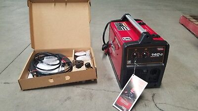 Lincoln Electric Power Mig 140c Mig Welder - K2471-2