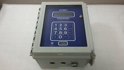 Polysonics Ufm91 Ultrasonic Doppler Flowmeter