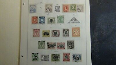 Liberia stamp collection on Scott Int'l pages w/ #820 or so to '79