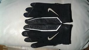 Mens Nike leather batting gloves large used hardly worn