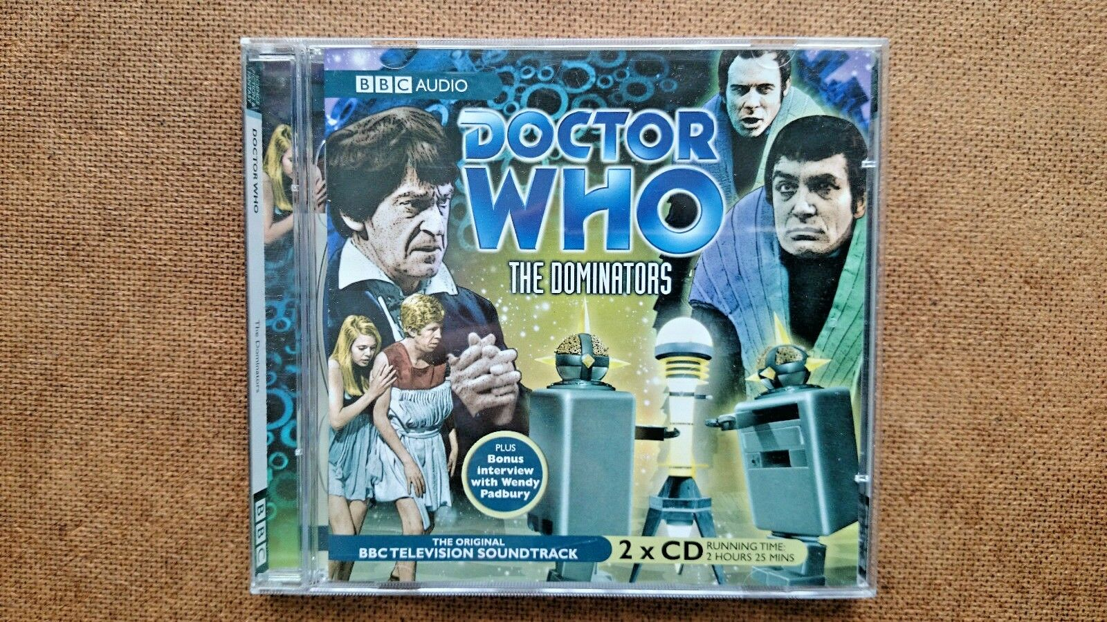 Doctor Who , the Dominators by BBC Audio, (CD-Audio,) - Patrick Troughton
