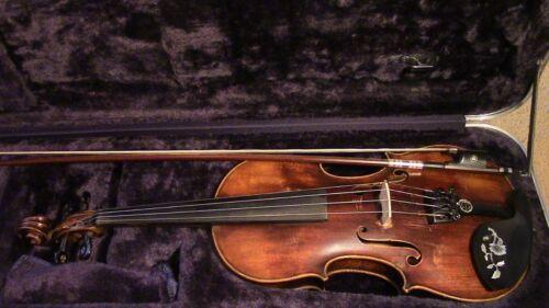 Violin Used 4/4 Fiddle Antique Vintage 1800,s