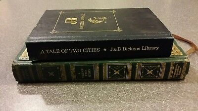 Dickens A Tale of Two Cities Lot of 2 hardcover books