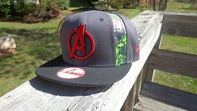 Avengers snapback hat - New Era Marvel Iron - Marvel Hat