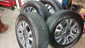 Ford Ranger Wildtrak Original Brand New RIMS & Tyres Shellharbour Shellharbour Area Preview