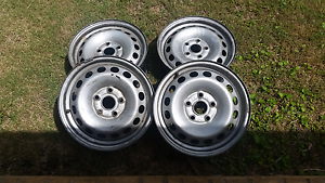 4 x VW Caddy Original Rims Prestons Liverpool Area Preview