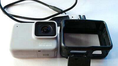 GoPro HERO7 Waterproof Digital Action Camera - White - CHDHB-601 Great Condition