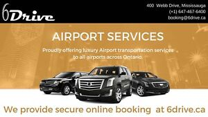 Pearson airport drop off 24-7 available ✈️✈️416-407-7355