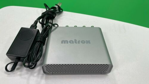 Matrox MXO Video & Audio Monitoring Interface with Power Supply