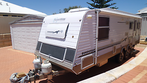 Caravan 23 foot Offroad  Aussie Wide Bunderra Quinns Rocks Wanneroo Area Preview