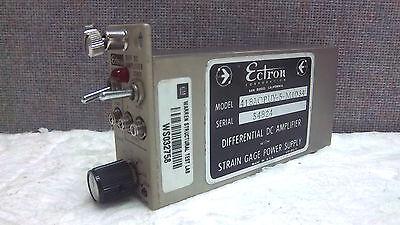 Ectron Differential Dc Amplifier 418aopuy-5-m1034 New Surplus 418aopuy5m1034