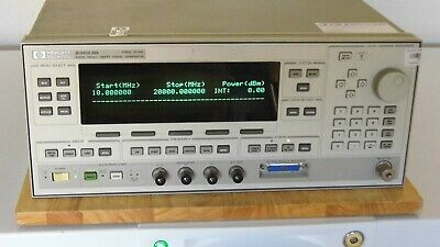 Agilent Hp 83623b W001 High Power Synthesized Sweeper
