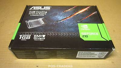 ASUS NVIDIA GeForce 210 EN210 SILENT/DI/512MD2(LP) 512 MB Video Card  NEW SEALED