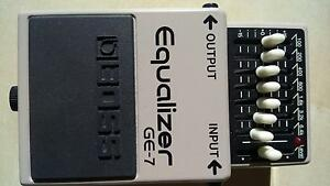 BOSS GE-7 guitar pedal effect EQ Taringa Brisbane South West Preview