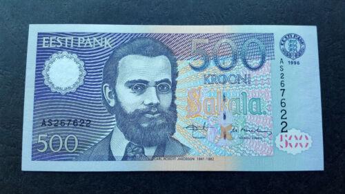 ESTONIA 500 krooni 1996 UNC