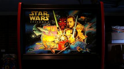 Star Wars Episode 1 Pinball Machine - HUO