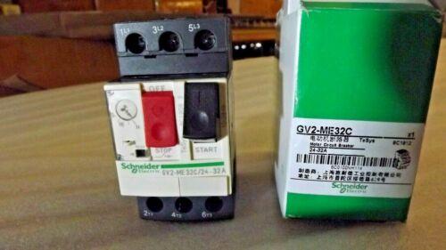 GV2-ME32C Square D 24-32 AMP MANUAL MOTOR STARTER