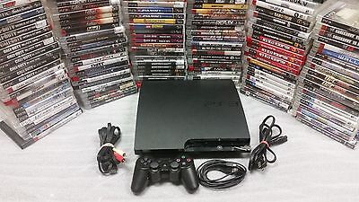 Playstation 3 Ps3 Console System 250Gb  320Gb With Controller And Games